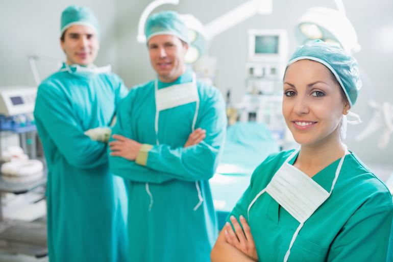 trainee surgeons