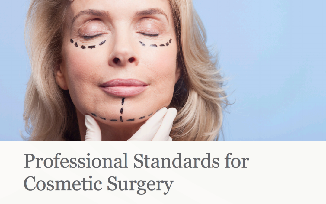 The Royal College of Surgeons – Professional Standards for Cosmetic Surgery – download here